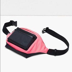 HERSCHEL SEVENTEEN Hip Pack Neon Pink - UNISEX